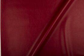 Kunstleer en suedine - NB 1268-057 Kunstleer wijnrood