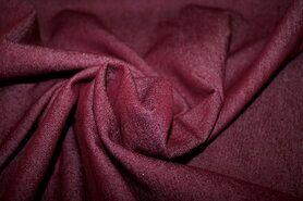 Spijkerstoffen - NB 3928-018 Jeans stretch bordeaux