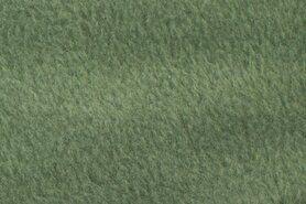 Fleece stoffen - NB 9111-022 Fleece oudgroen