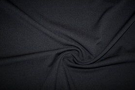 Tricot - KN 0692-999 Tricot light scuba crepe zwart