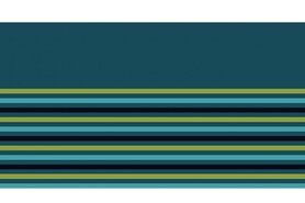 Bündchen / Manchetten - NB 10666-024 boord/manchet uni/fijn gestreept petrol/appelgroen/turquoise/donkerblauw