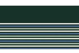 Boorden / Manchetten - NB 10666-025 boord/manchet uni/fijn gestreept donkergroen/mint/blauw/oudgroen