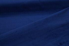 Ribcord en velvet - NB 3044-005 Ribcord medium kobalt