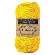 Haak- en breigaren - Catona 208 Yellow Gold 50GR