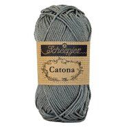 Haak- en breigaren - Catona 242 Metal Grey 50GR