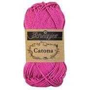 Brei- en haakgaren Scheepjes CATONA - Catona 251 Garden Rose 50GR