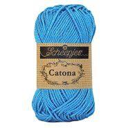 Strick- und Häkelgarne - Catona 384 Powder Blue 50GR
