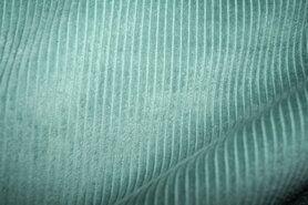 Ribcord en velvet - NB 3044-021 Ribcord grof oudgroen