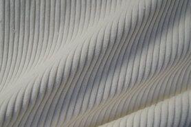 Ribcord en velvet - NB 3044-051 Ribcord grof ecru