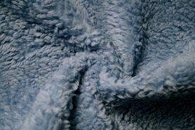 Pelz - RS0034-004 Teddy Baumwolle blau