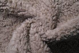 80% katoen, 20% polyester - RS0034-053 Teddy katoen beige
