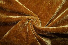 Winter - NB 3348-037 Fluweel rekbaar oker-mosterd