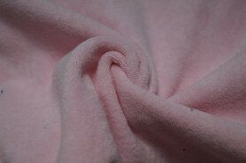 80% katoen, 20% polyester - NB 11707-011 Rekbare badstof babyroze