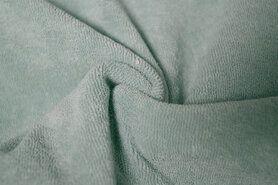 Badstof - NB 11707-021 Rekbare badstof mint