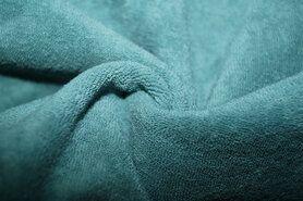 Badstoffen - NB 11707-022 Rekbare badstof oudgroen