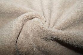 80% katoen, 20% polyester - NB 11707-052 Rekbare badstof beige
