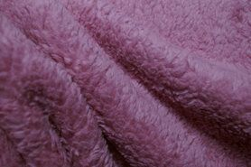 Plaid - RS0034-014 Teddy katoen roze-blush