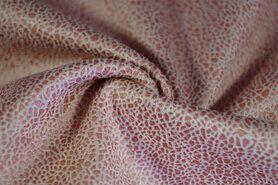 Kunstleder und Suedine - KN19 0541-093 Unique leather blush