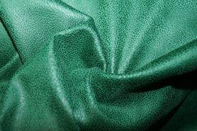 Kunstleer en suedine - KN19 0541-307 Unique leather groen