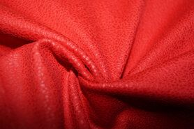 Kunstleder und Suedine - KN19 0541-425 Unique leather rot