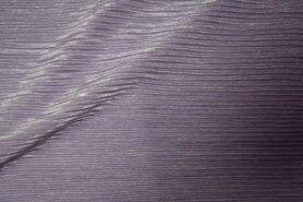 Polyester stof - KN19 13953-815 Plisse-achtig lila