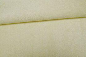 Katoen met boemboe - Ptx 997071-169 Molton-achtig zachtgeel