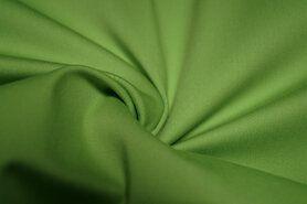 Katoen, viscose, elastan - KN 0748-315 Satin stretch lime