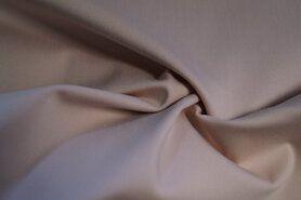Katoen, viscose, elastan - KN 0748-092 Satin stretch poederroze