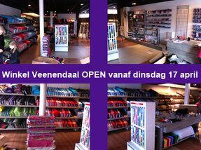 De Stoffenkraam Veenendaal is OPEN