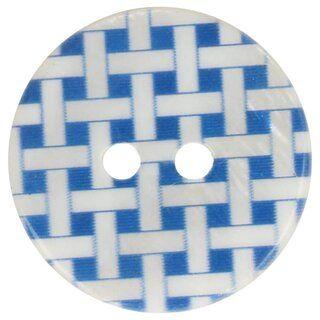 Knoop geruit blauw 5601-32*