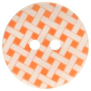 Knoop geruit oranje 5601-32*