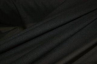 Charmeuse zwart (rekbare tussenvoering)*k