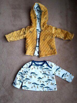 Babyjasje en shirt